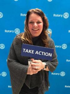 Christa Nelson Rotarian