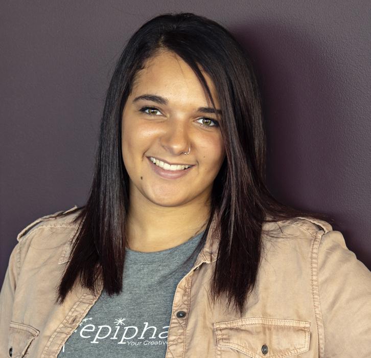 Tessa Laudermilch as a marketing and social media coordinator