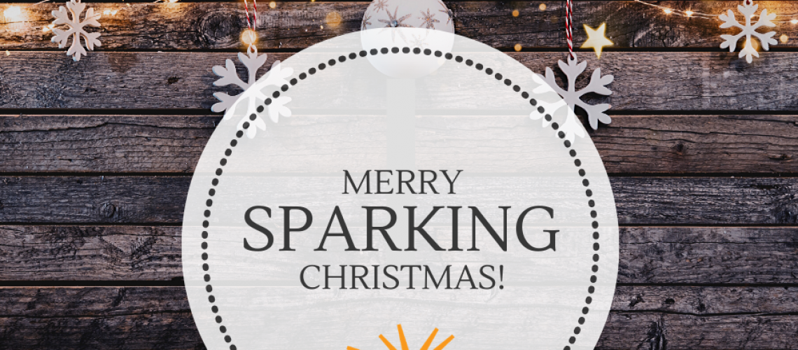 MERRY SPARKING CHRISTMAS